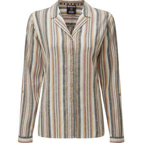 Sherpa Kiran Long Sleeve Shirt Women multi stripe